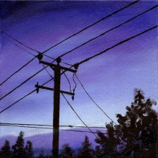 #15 Oil on canvas, 15 x 15cm 2014