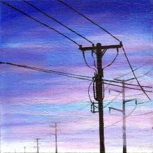 #20 Oil on canvas, 15 x 15cm 2014