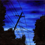 #24 Oil on canvas, 15 x 15cm 2014
