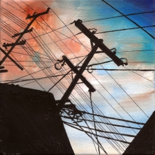 #35 Oil on canvas, 15 x 15cm 2014