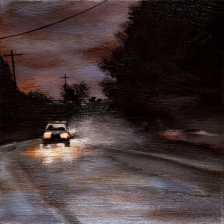 #36 (SOLD) Oil on canvas, 15 x 15cm 2014