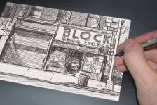'Block' Postcard, 2014