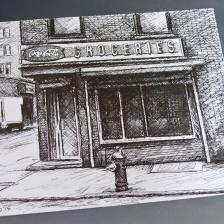 'Groceries' Postcard, 2014